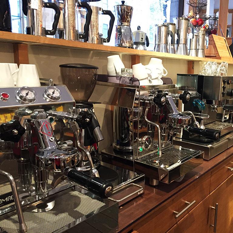 Kaffe och espressomaskiner – Lagamati